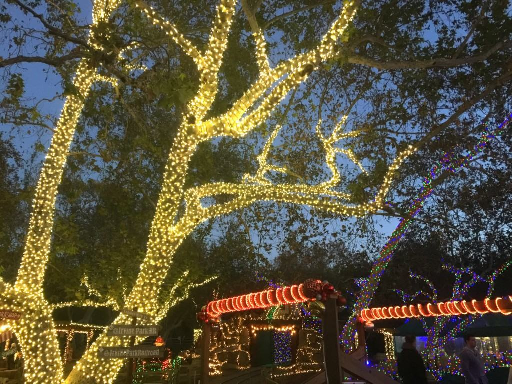 The Irvine Park Railroad Christmas Train