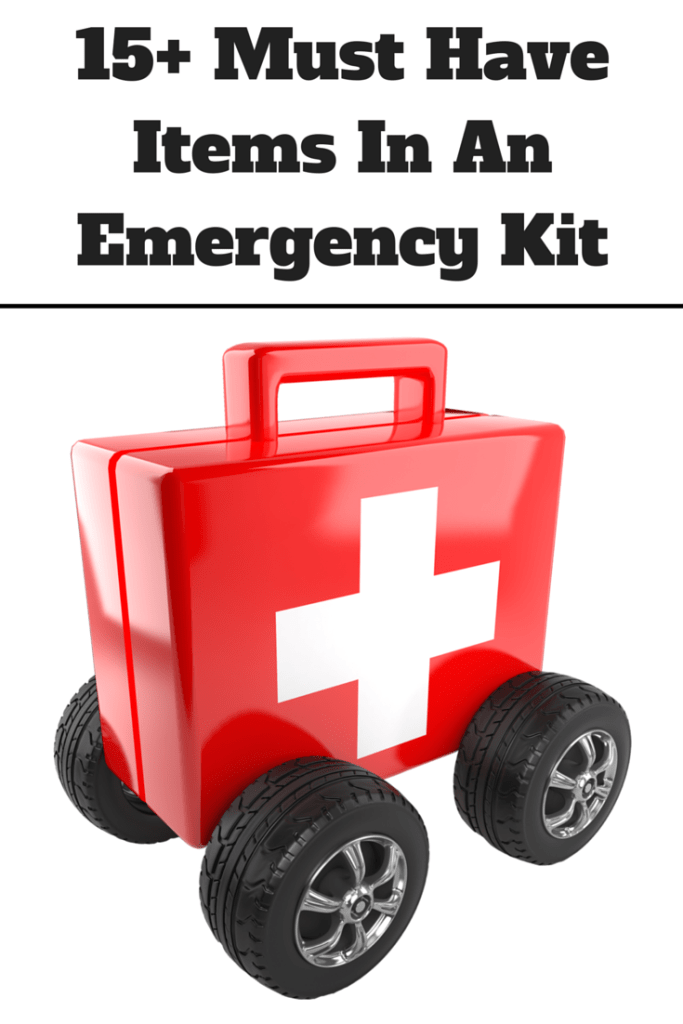 How to make an emergency kit for families