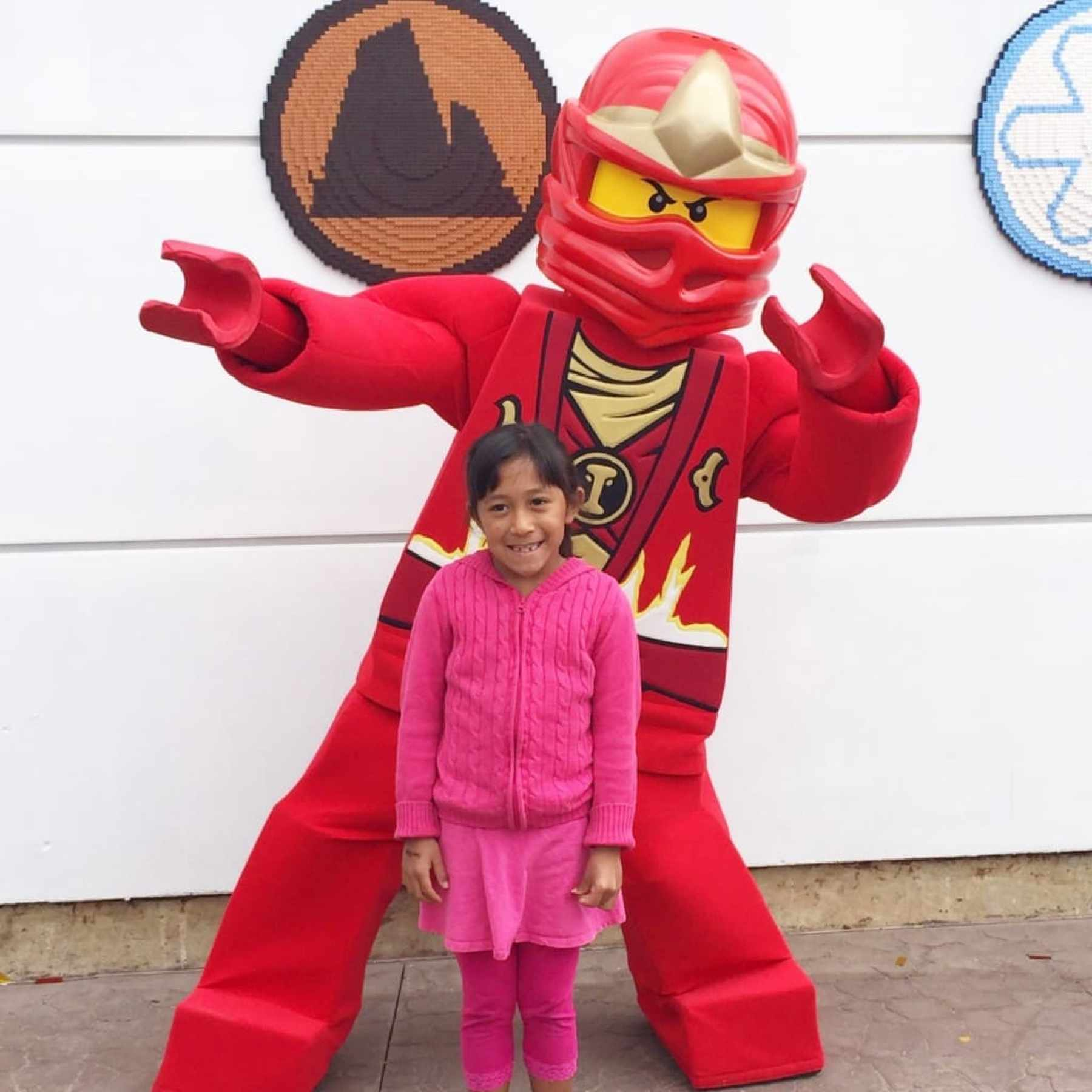 During NINJAGO The Ride at LEGOLAND California, guests officially train like a ninja and experience the new interactive 4D ride, which is the first in North America to enable guests to control the outcome of their adventure just by using their hands.