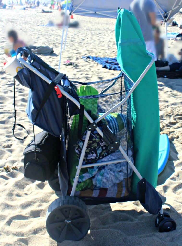 Deluxe Wonder Wheeler Beach Cart