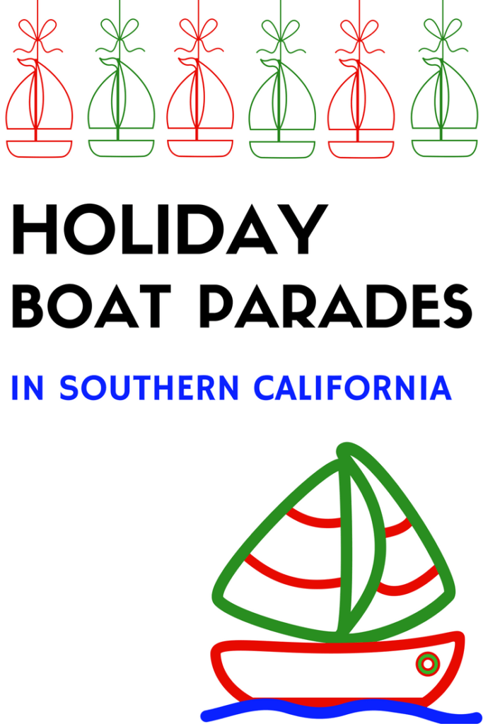 Christmas Boat Parades in Southern California