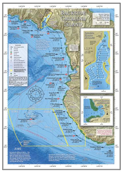 Backside Catalina Island