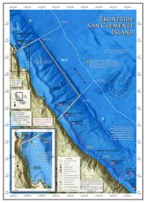 Frontside San Clemente Island