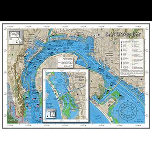 Thumbnail of San Diego Bay Fishing Map