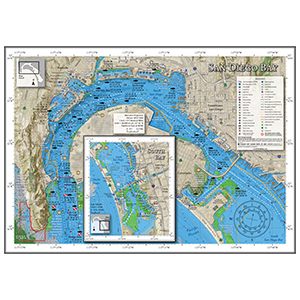 Thumbnail of San Diego Bay Fishing Map