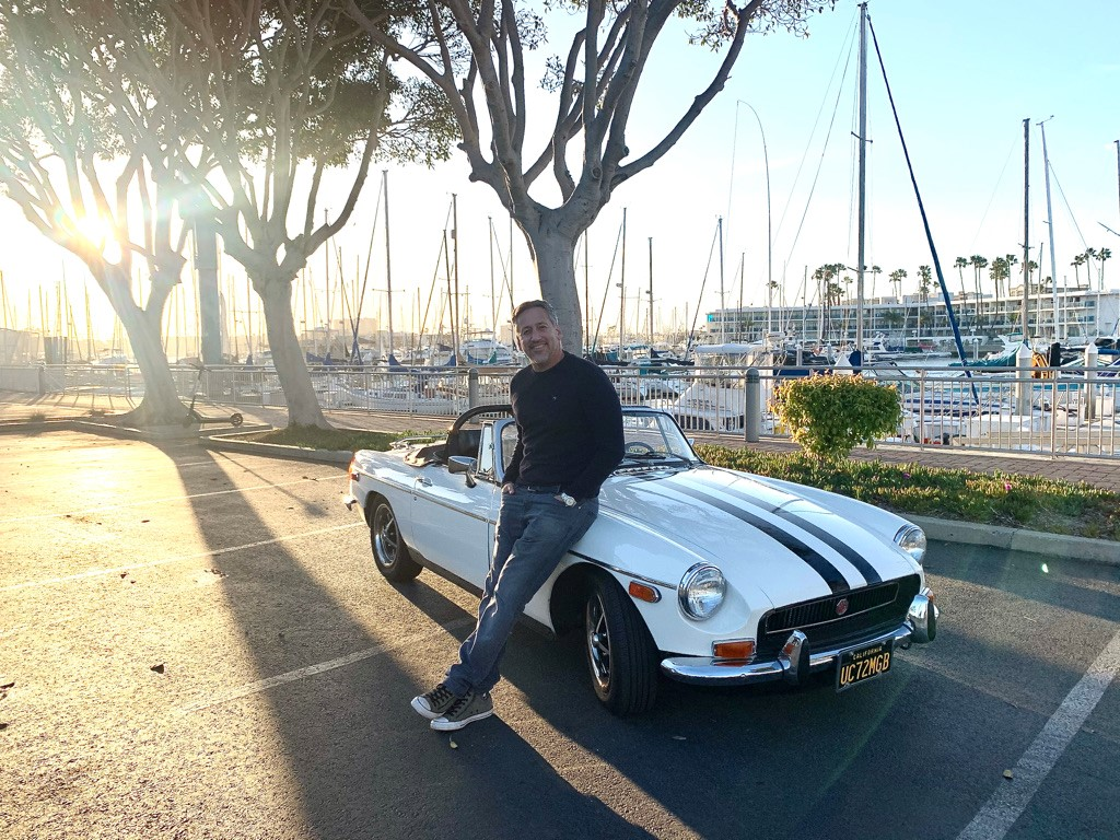 Reliving my 20's through a 1972 MGB