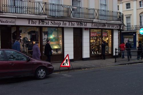 The First Shop in the World, Greenwich