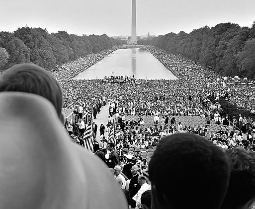 Wordless Wednesday: March on Washington Edition