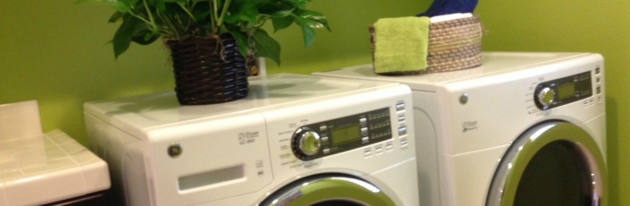 A New Washer and Dryer: No More Hanging Out to Dry