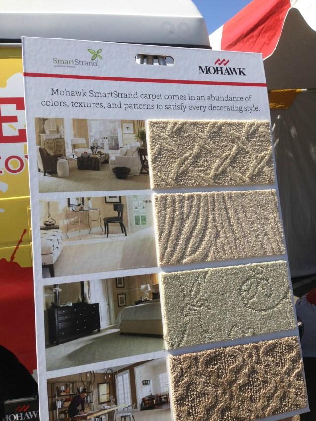 #shop Samples of Mohawk's SmartStrand Carpet