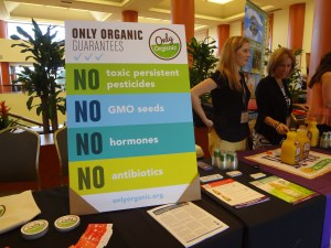 No confusion here over what organic means.