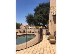 quick installation pool fence