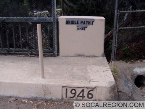 Date stamp and bridge rail