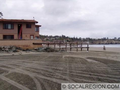 Low tide at La Jolla Shores.