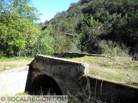 """Old bridge on """"Allen Road""""."""