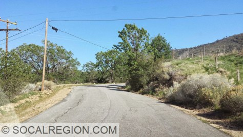 Pine Canyon Road between Three Points and the Ridge Route.