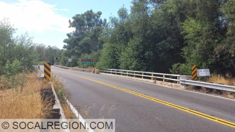 Live Oak Creek Bridge (57-0070) looking west.