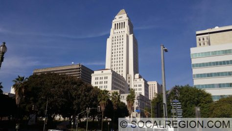 The Modern Heart of Los Angeles - 1st and Main next to City Hall