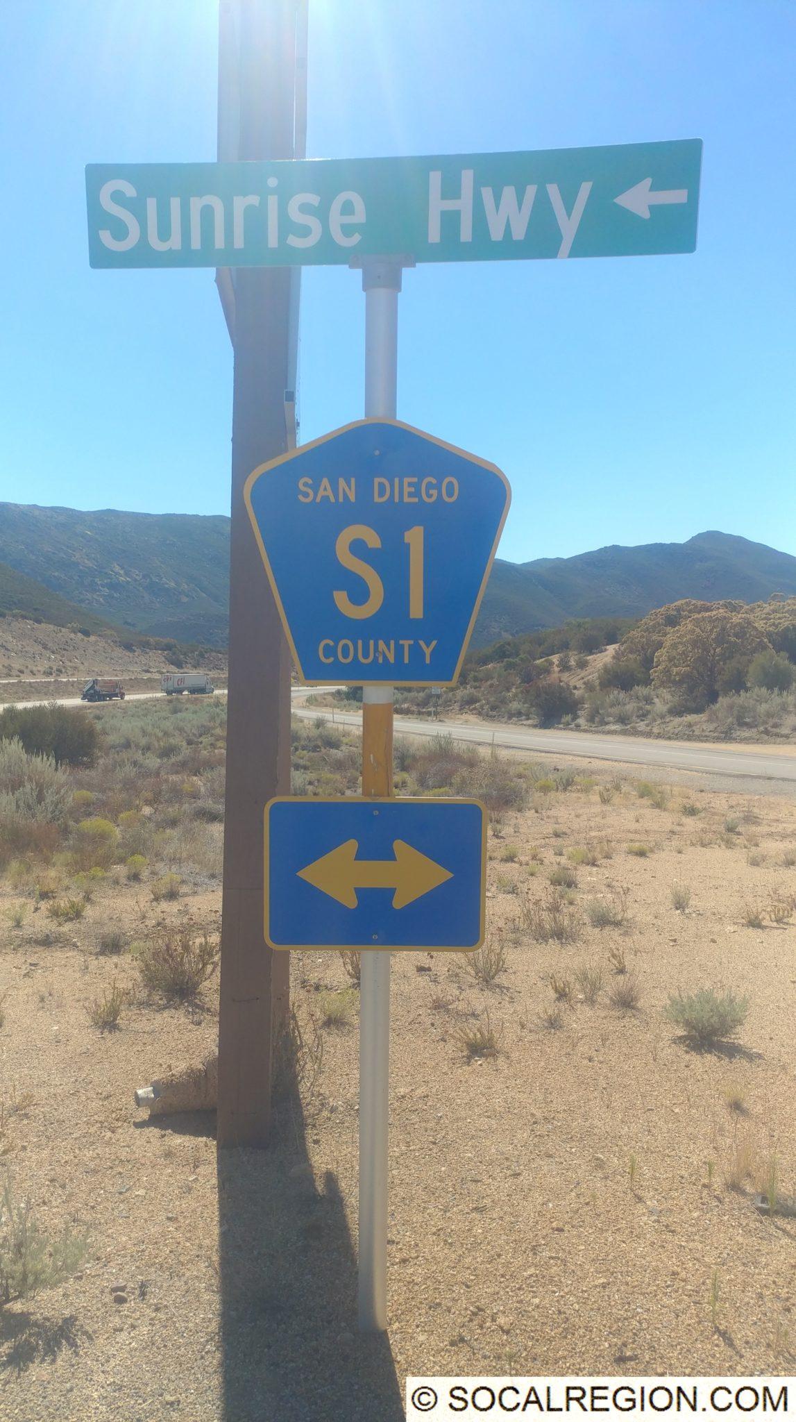 Scenic Drives – Sunrise Highway | Southern California Regional Rocks ...