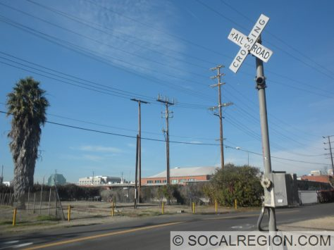 Crossing at Military Ave.