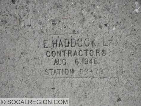 1948 date stamp on Olympic Blvd.