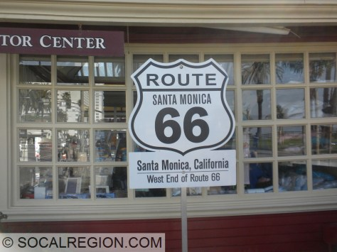 Sort of correct, Santa Monica is the end, just not Santa Monica Blvd and Ocean Ave.