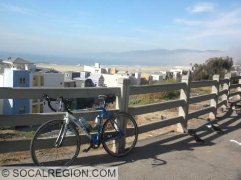 My bike at the Palisades.