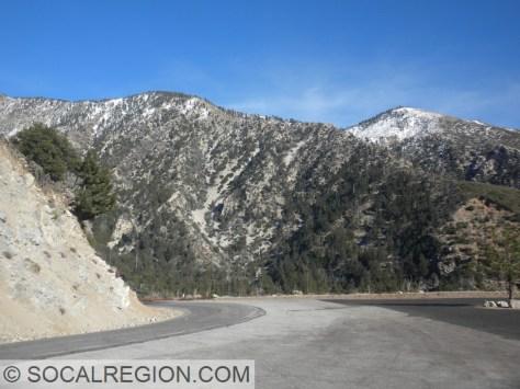 Toward Crystal Lake and Mt Hawkins