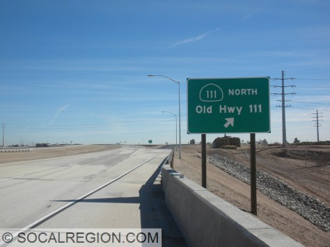 Confusing sign at the exit on the bypass. Is it current or old?