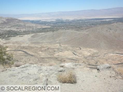Seven Level Hill on Hwy 74 heading into Palm Desert.
