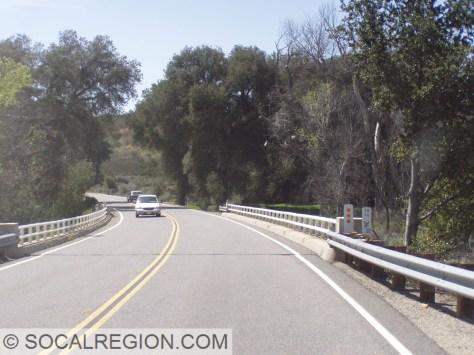 Salvaged Rail bridge near Warner Springs.