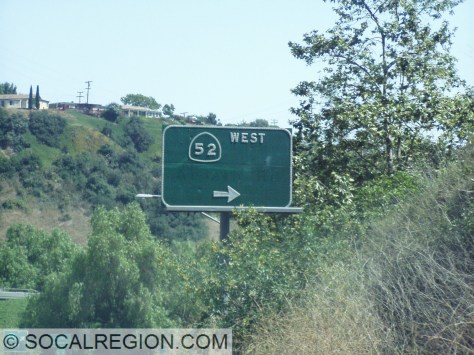 Sign with the former Ardath Road name removed. Ardath Road became La Jolla Parkway in the early 2000's.