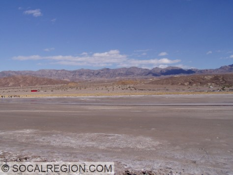 Playa floor and the alluvial apron.