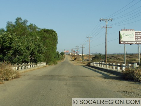 1939 San Timeteo Creek Bridge near Beaumont.