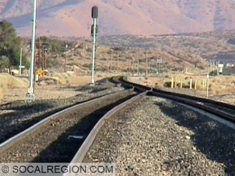 Palmdale Junction looking south.