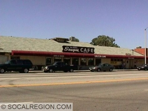 Saugus Cafe, since 1888.