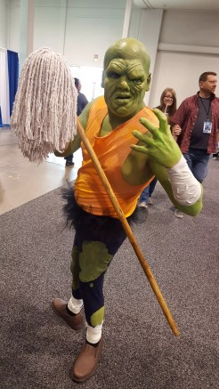 So does the Toxic Avenger. Maybe he should go up against Thanos?
