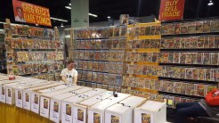 Can't have a comic convention without comic books!