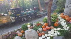 Camp Spooky even has a ghost train