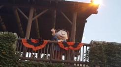 Linus scaring up some fun