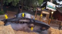 Investigating a UFO crash landing