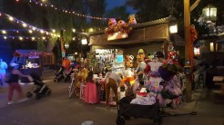 Art and Craft booths in the evening