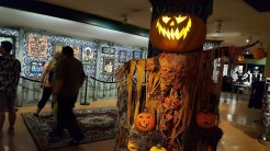 Animated prop repurposed from Scary Farm's Pumpkin Eater scare maze