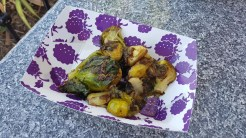 Boysenberry Balsamic Brussel Sprouts