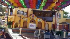 DJ spinning at Fiesta Village
