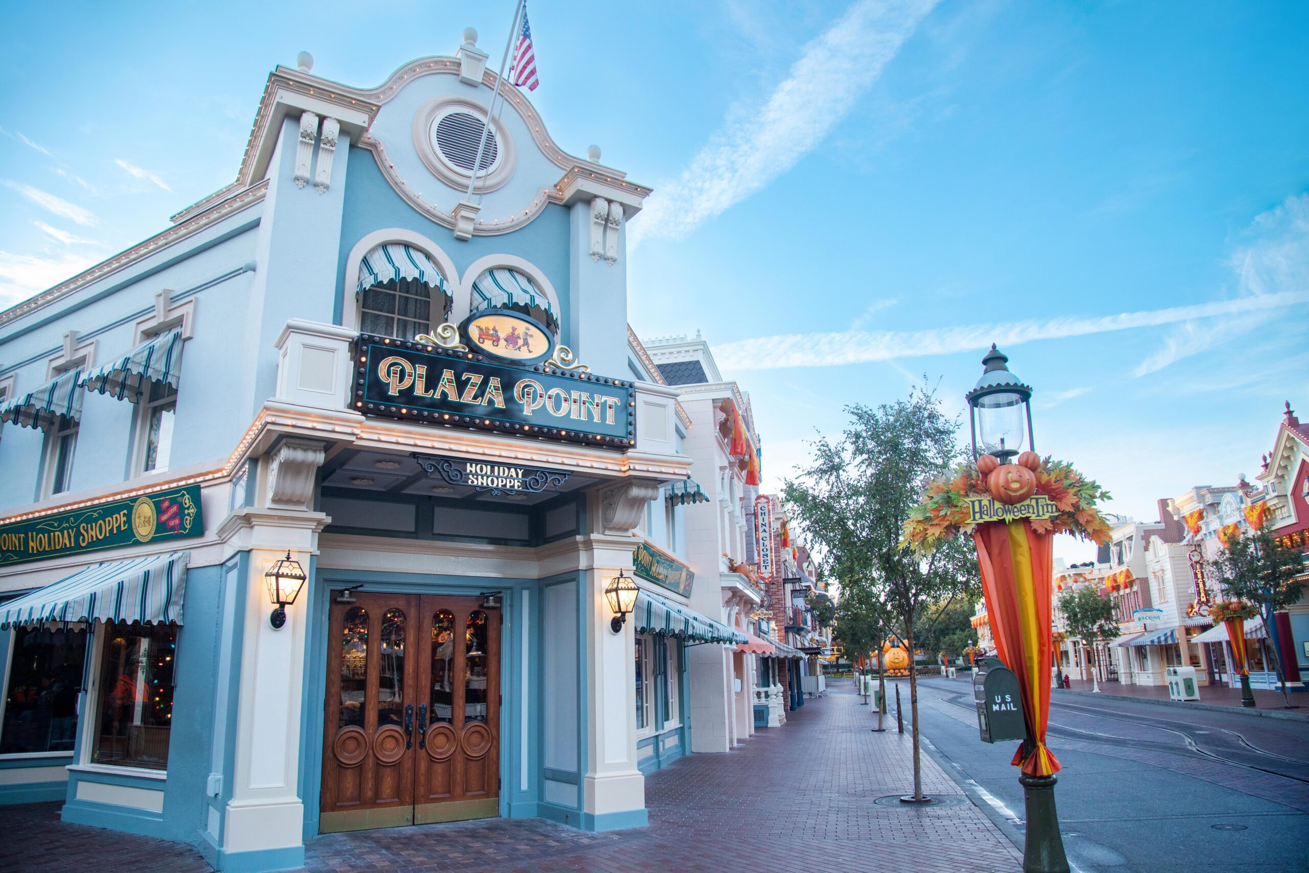 Plaza Point, the All-New Holiday Store on Main Street, U.S.A., is Now Open
