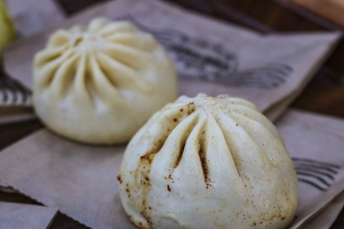 Add the Hideaway's special sauce and you have quite a delicious treat with 3 different types of Bao.