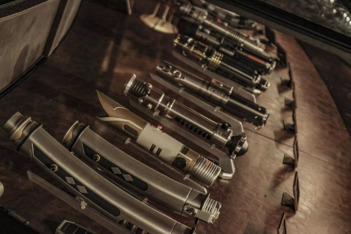 The legacy sabers of Dok-Ondar's Den of Antiquities