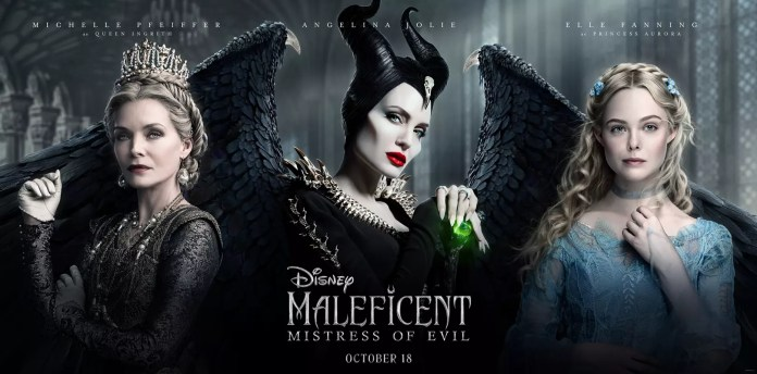 Disney's new Maleficent: Mistress of Evil Character Poster!