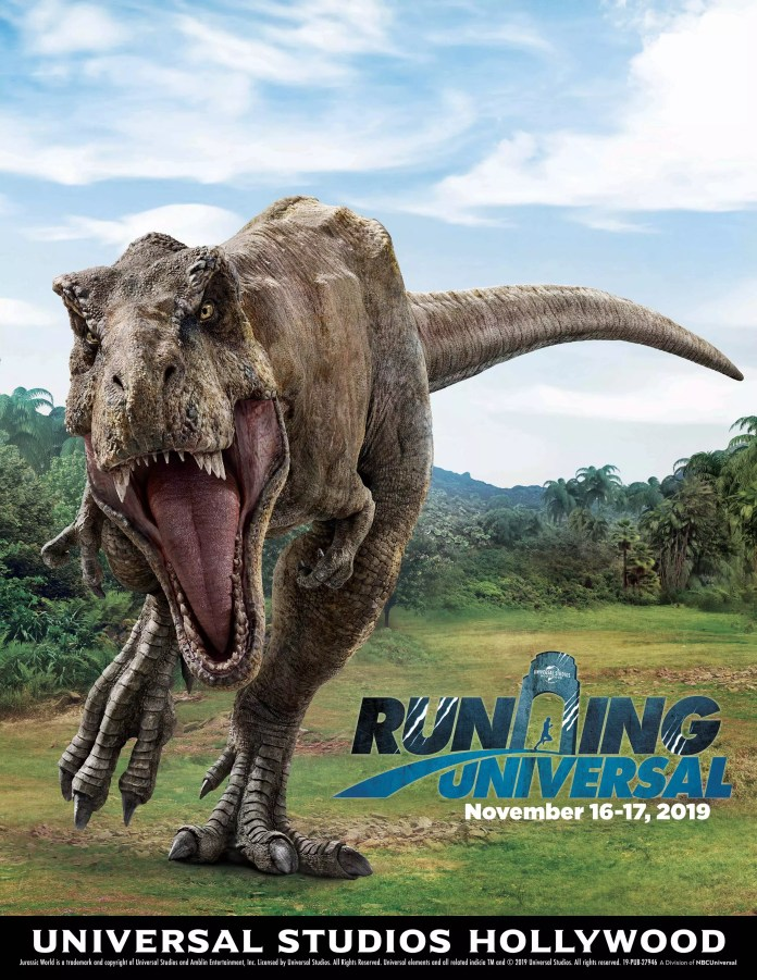 Take part in the all new Jurassic World Run at Universal Studios Hollywood this November!